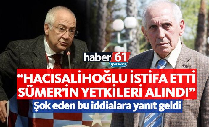 Hacısalihoğlu ve Sümer hakkındaki flaş iddialara yanıt geldi!