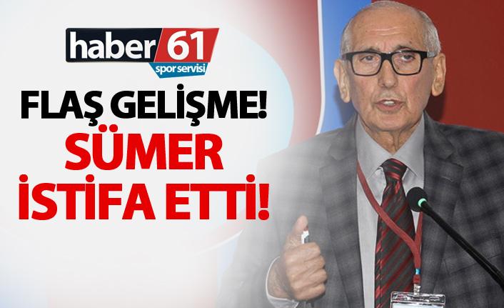 Trabzonspor'da flaş gelişme! Sümer ayrıldı