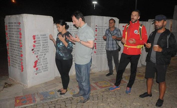 17 Ağustos'ta hayatını kaybedenler unutulmadı
