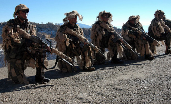 TSK açıkladı: 1 asker şehit