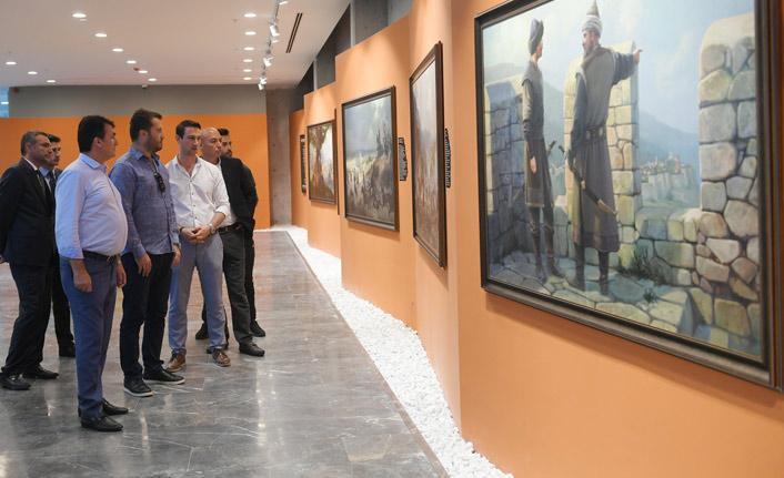 Diriliş'in yapımcısından Fetih Müzesi'ne ziyaret