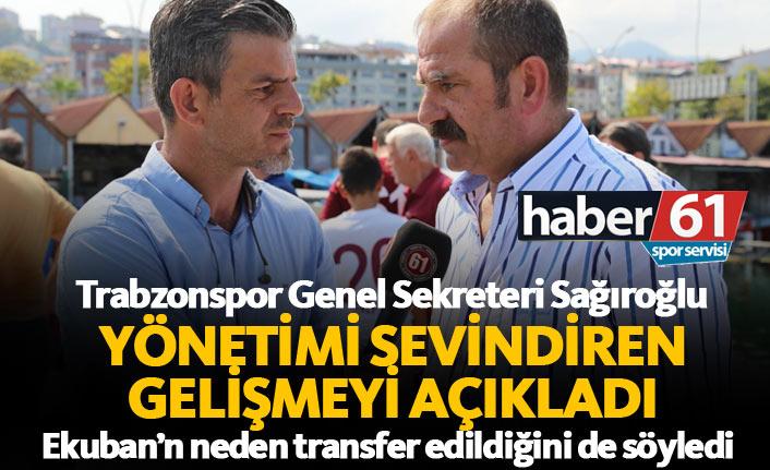 Trabzonspor'da yönetimi sevindiren gelişme