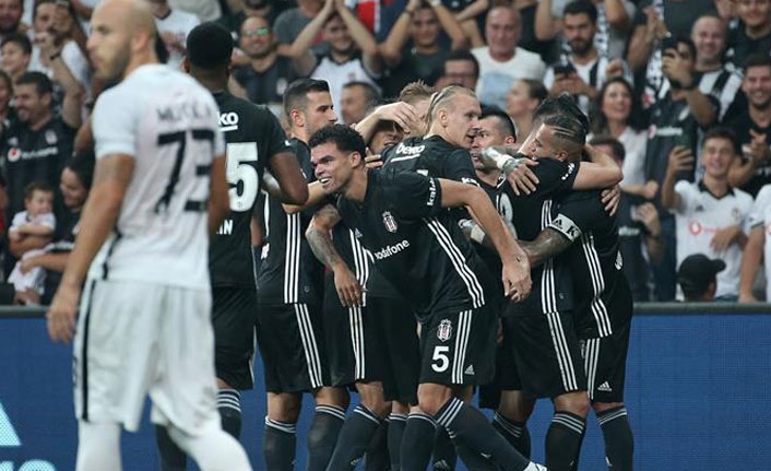 Beşiktaş Avrupa Ligi'nde gruplarda!