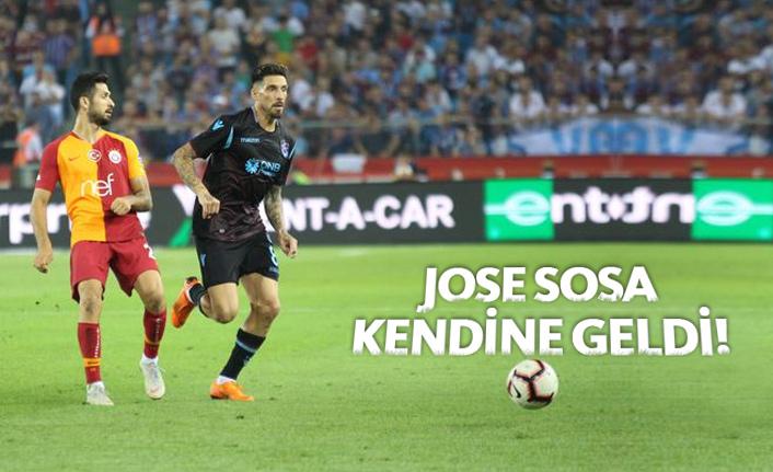 Jose Sosa kendine geldi