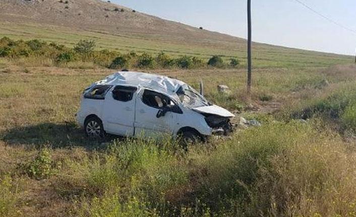 Trabzon Adliyesi'nde çalışan çift kaza yaptı