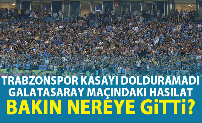 Trabzonspor'a 6 Milyon TL!