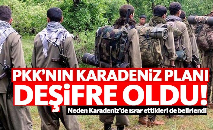 PKK'nın Karadeniz planı deşifre oldu!