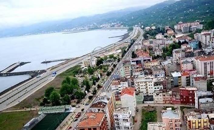 Beşikdüzü - Trabzon yolunda çalışma