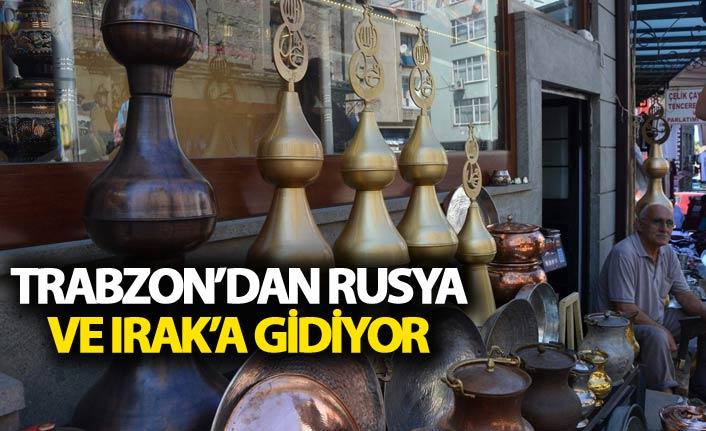 Trabzon'dan Rusya ve Irak'a alem ihracatı