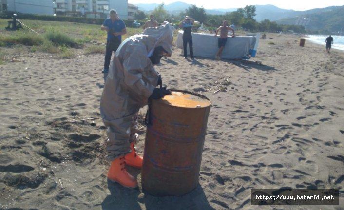 Karadeniz sahilinde esrarengiz variller
