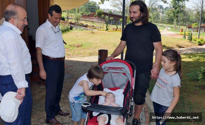 Trabzon Botanik'i 10 günde 12 bin kişi ziyaret etti