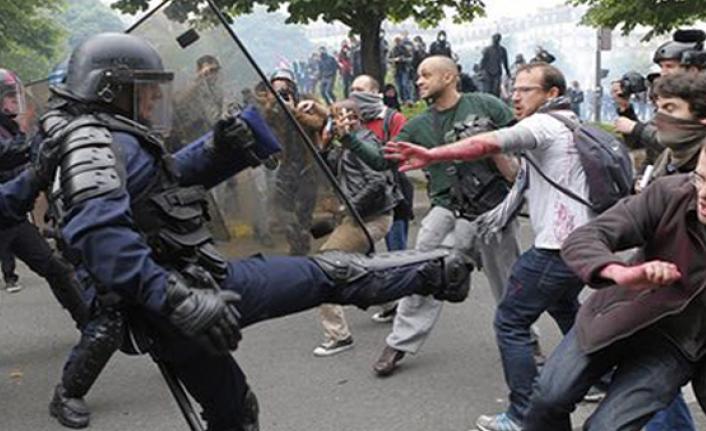 Fransa'da otoyol karşıtı işgalcilere 500 jandarmayla operasyon