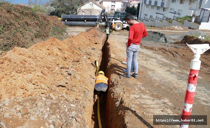Trabzon doğalgaza alıştı