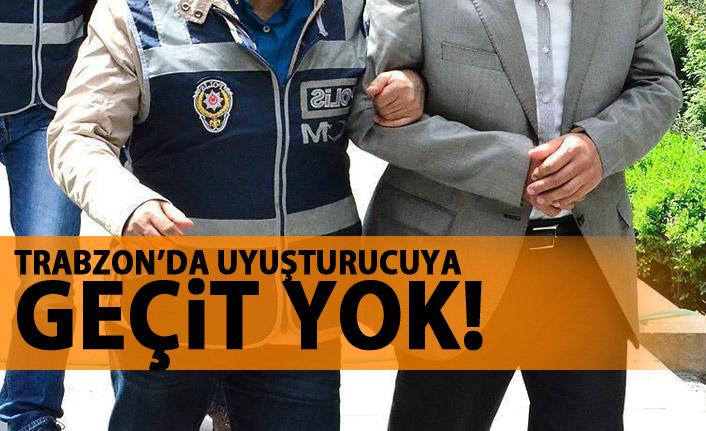 Trabzon emniyeti uyuşturucu tacirlerine göz açtırmıyor