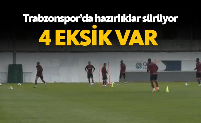 Trabzonspor'da Alanya hazırlıkları
