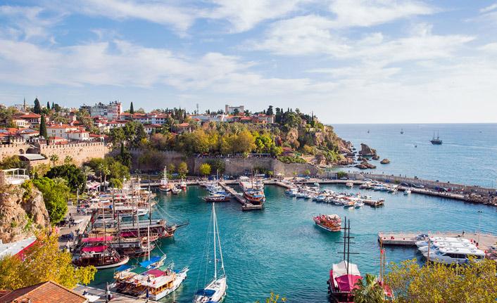 Antalya'ya 10 milyon ziyaretçi