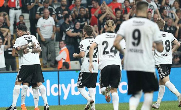 Beşiktaş Malatya'yı yendi
