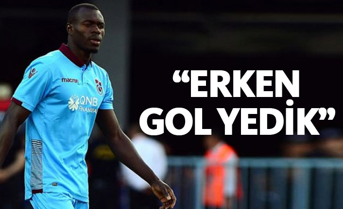 Toure: Erken gol yedik