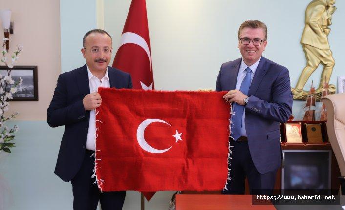 Siirt Valisi Trabzon'da baba ocağında