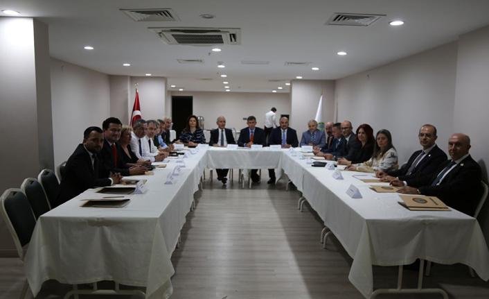 Baro Başkanları Toplantısı gerçekleştirildi