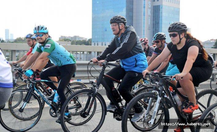 En büyük hayali bisikletle Giresun'a gitmek