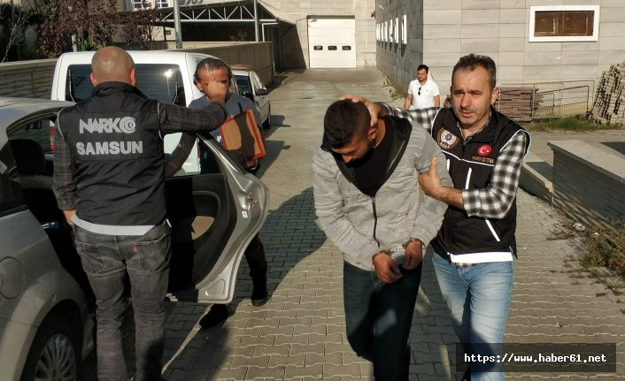 İstanbul'dan Karadeniz'e uyuşturucu getirirken yakalandı