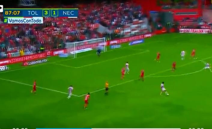30 metreden inanılmaz gol!