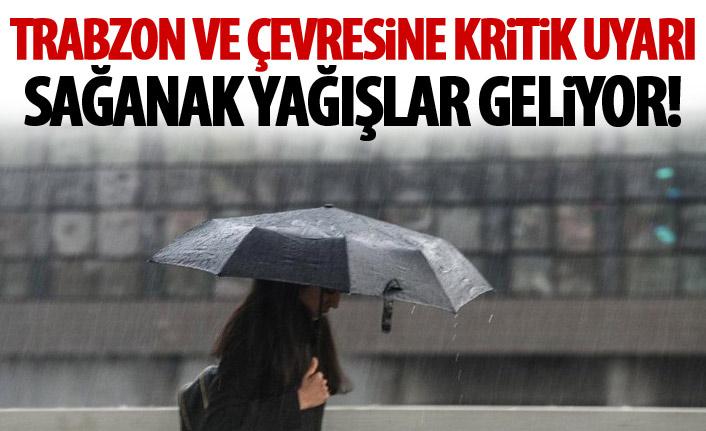 Meteoroloji'den kritik uyarı! Sağanak yağışlar geliyor!