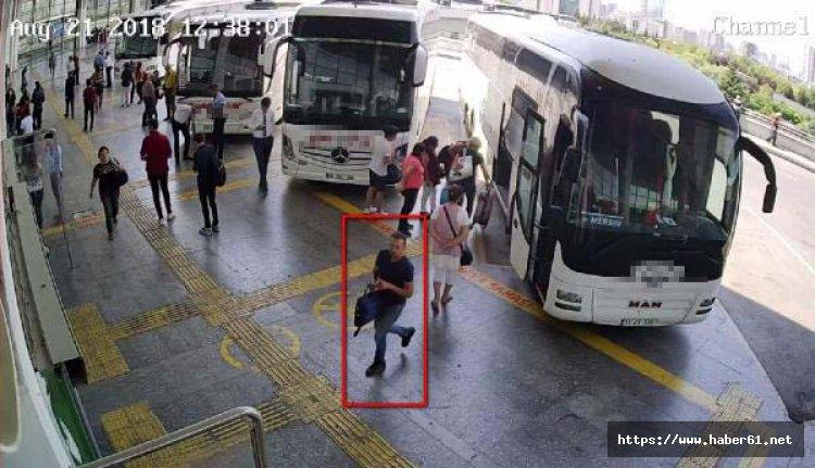 Yolcu otobüslerinde hırsızlık yapıyordu! Yakalandı!