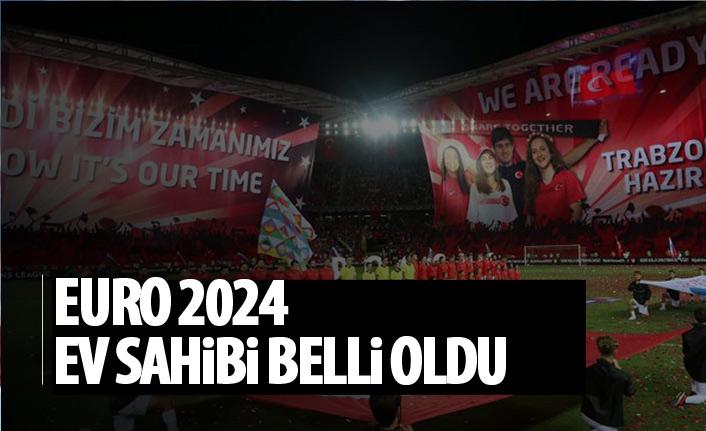 EURO 2024'e ev sahipliği yapacak ülke belli oldu