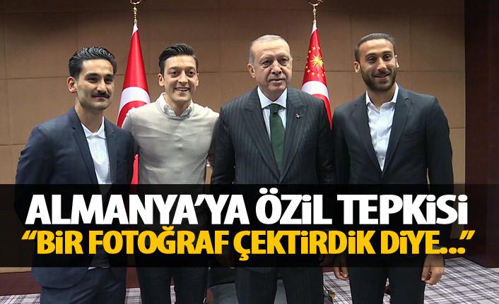 Erdoğan'dan Mesut Özil açıklaması: Bir fotoğraf çektirdik diye dışladılar