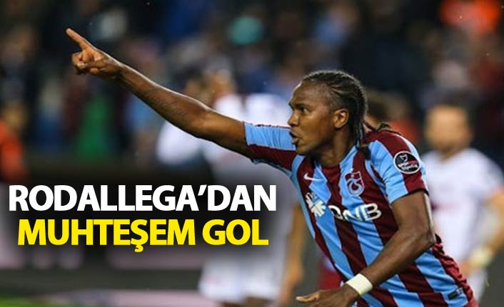 Rodallega'dan muhteşem gol