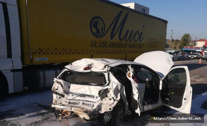 Samsun'da trafik kazası! Yaralılar var