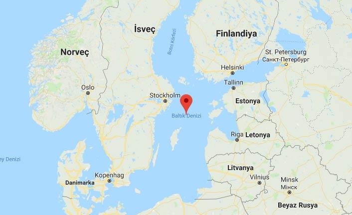 Baltık Denizi'nde yüzlerce yolcusu bulunan feribotta patlama