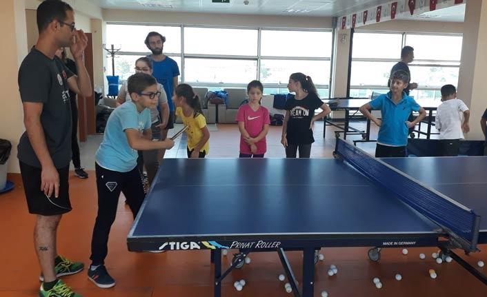 Masa tenisinde Trabzon atağı