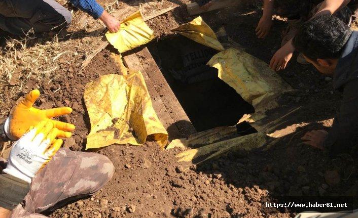 Muş'ta PKK'ya ait sığınak imha edildi