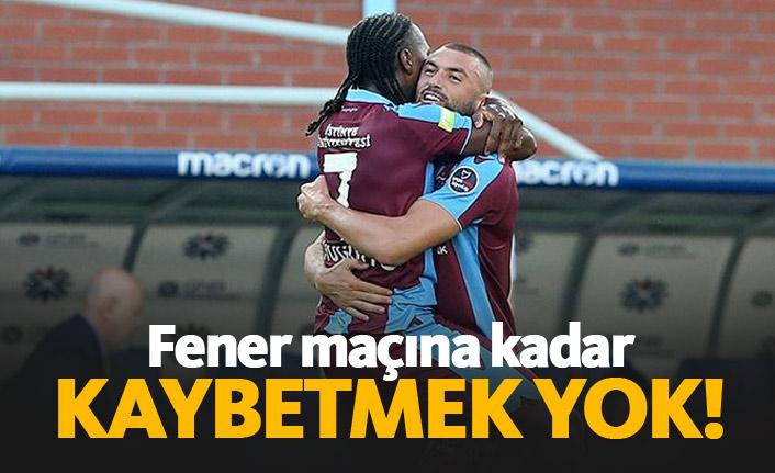 Trabzonspor'da hedef seri galibiyetler yakalamak