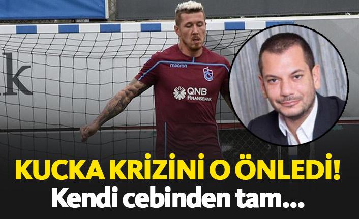 Trabzonspor'da Kucka krizini o önledi