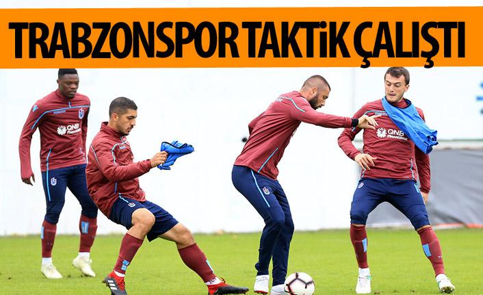 Trabzonspor Akhisar maçı hazırlıklarını sürdürüyor