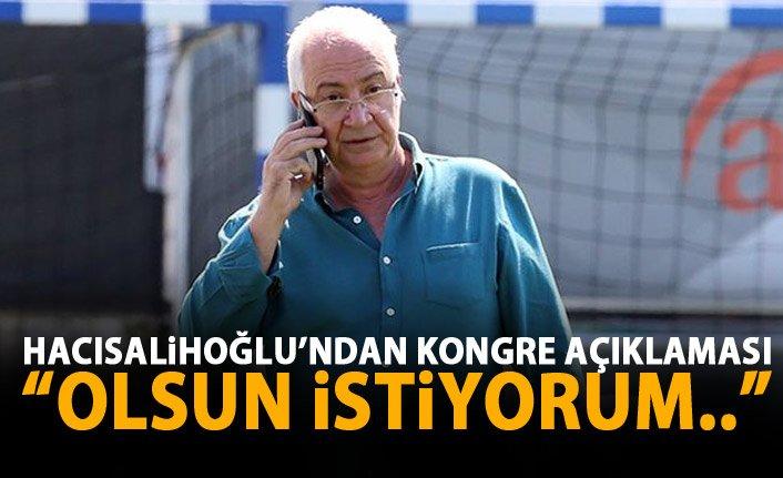 Hayrettin Hacısalihoğlu: ''Ahmet Ağaoğlu devam etmeli''