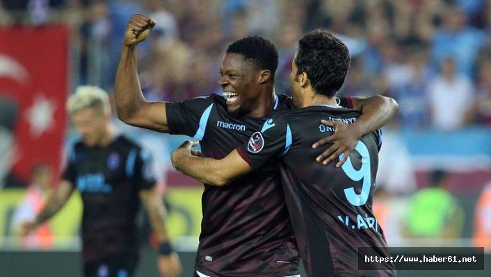 Trabzonspor'un yeni forveti Burak ve Rodallega'ya takıldı
