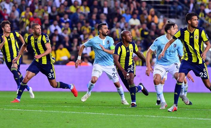 Fenerbahçe Başakşehir berabere