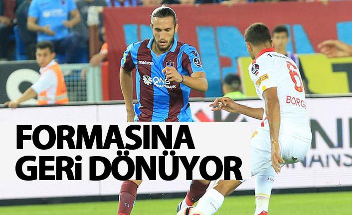 Trabzonspor'un yıldızı formasına geri dönüyor