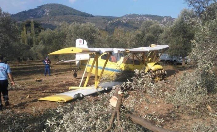 Tek kişilik uçak düştü