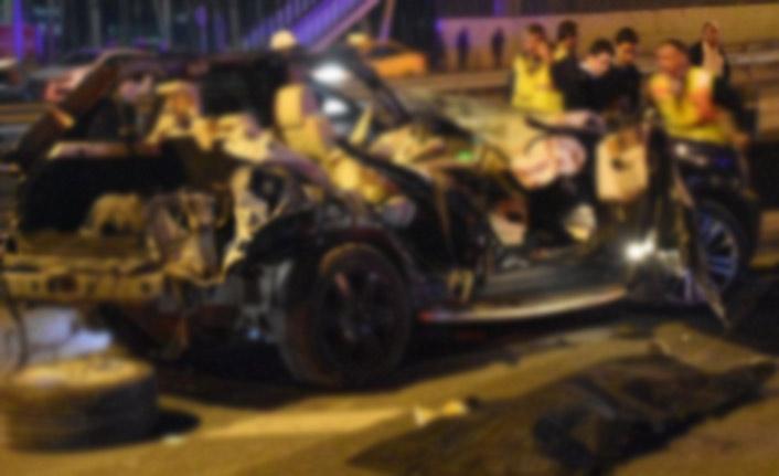 Gazeteci kadın kazada hayatını kaybetti