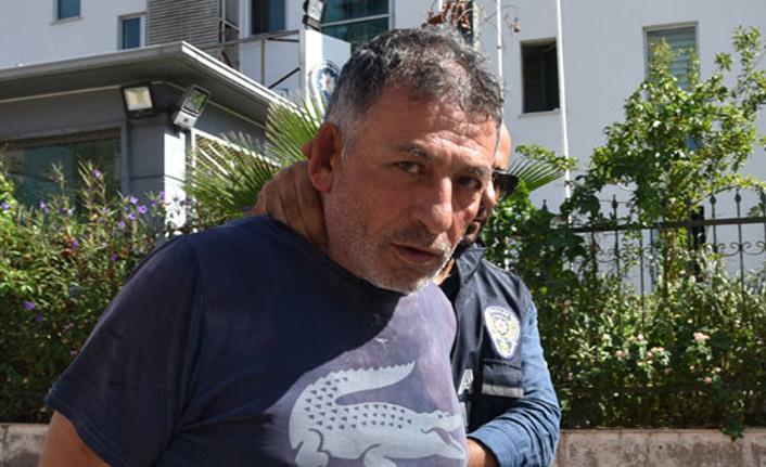 Katil caddede yürürken yakalandı