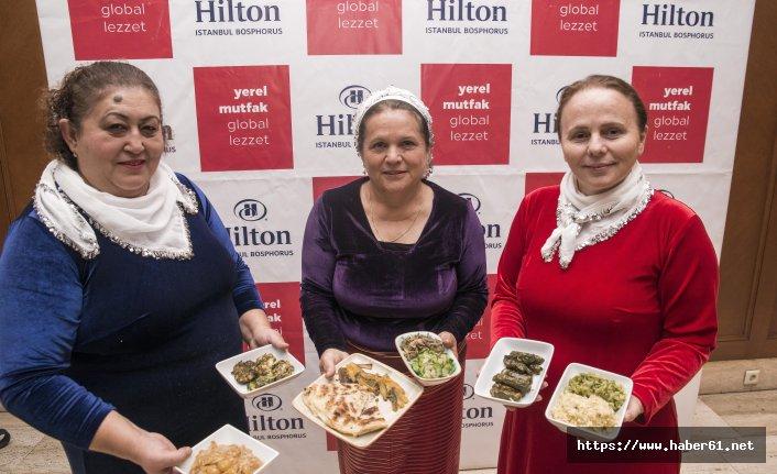 Giresun yemekleri İstanbul'da tanıtılıyor