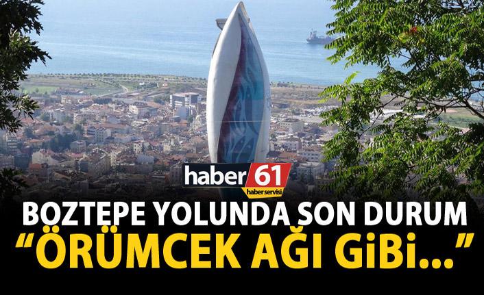 Gümrükçüoğlu'ndan Boztepe yolu açıklaması