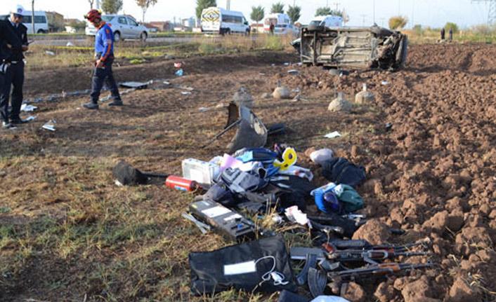 Aksaray'da trafik kazası: 8 yaralı