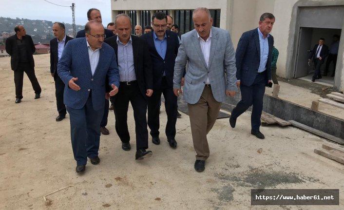 Ulaştırma ve Altyapı Bakanı Turan Trabzon'da